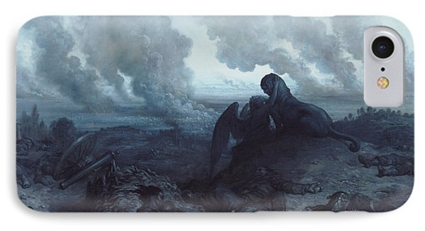 The Enigma Phone Case by Gustave Dore