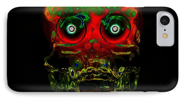 The Face Of Man Phone Case by David Lee Thompson