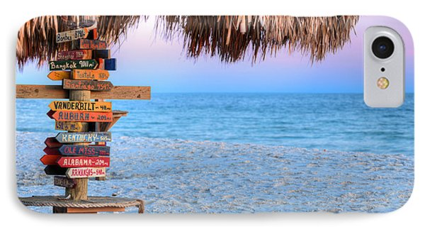 The Fort Morgan Tiki Bar IPhone Case by JC Findley