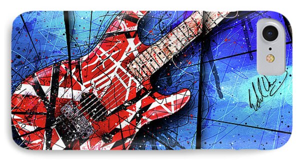 The Frankenstrat Vii Cropped IPhone Case by Gary Bodnar