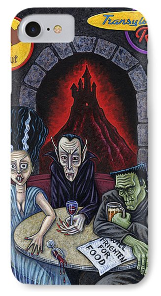 The Fried Of Blankenstein IPhone Case by Holly Wood