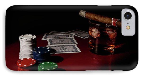 The Gambler IPhone Case by Tom Mc Nemar
