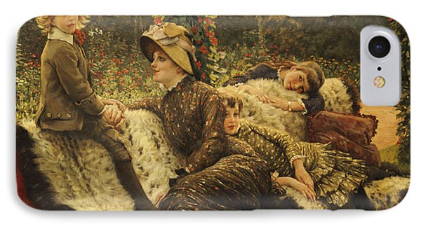 The Garden Bench IPhone Case by Tissot