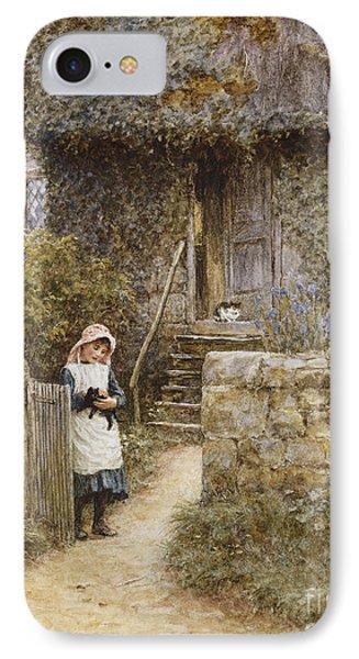 The Garden Gate IPhone Case by Helen Allingham