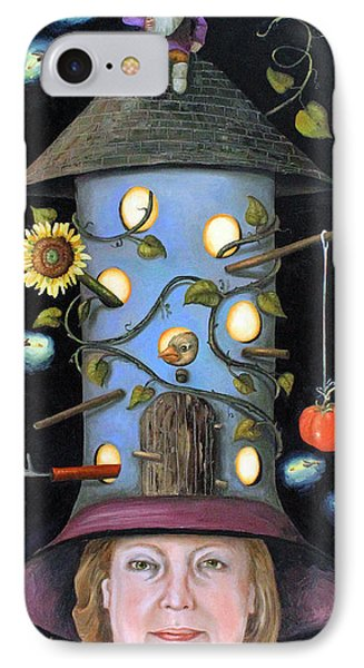 The Gardener Phone Case by Leah Saulnier The Painting Maniac