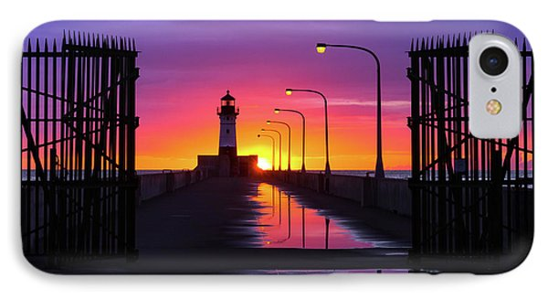 The Gates Of Dawn IPhone Case by Mary Amerman