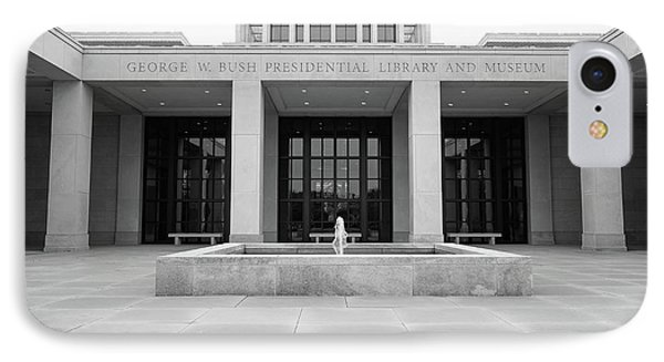 The George W. Bush Presidential Library And Museum  IPhone 7 Case by Robert Bellomy