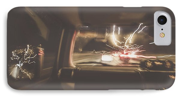 The Getaway Car Chase IPhone Case by Jorgo Photography - Wall Art Gallery