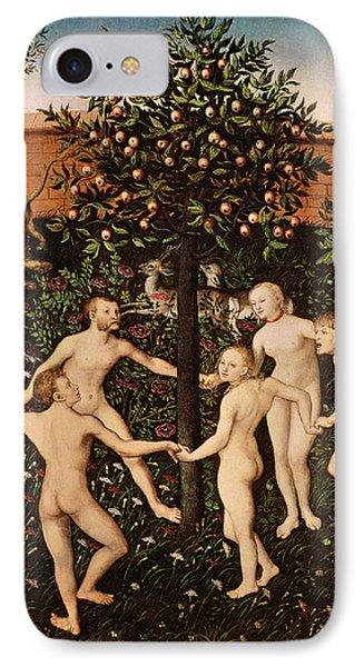 The Golden Age Phone Case by Lucas Cranach