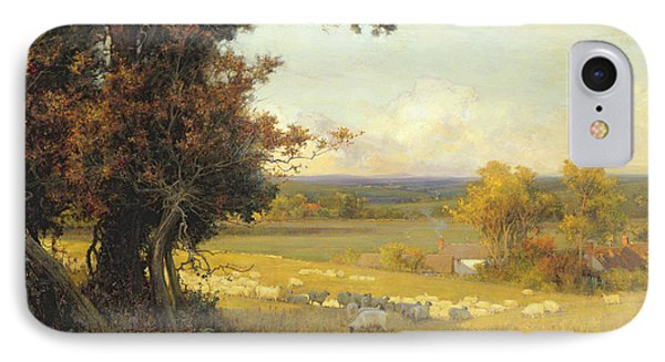 The Golden Valley Phone Case by Sir Alfred East