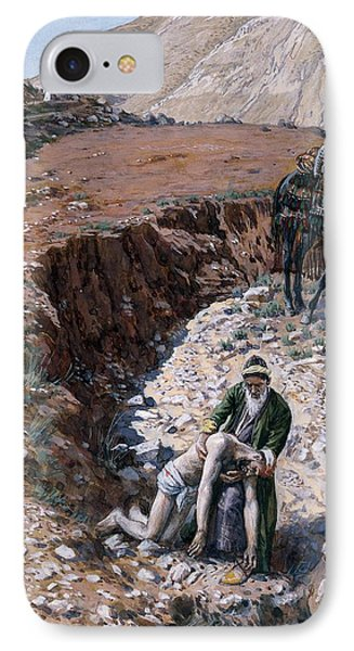 The Good Samaritan Phone Case by Tissot