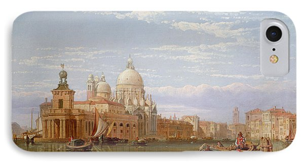 The Grand Canal - Venice Phone Case by George Clarkson Stanfield