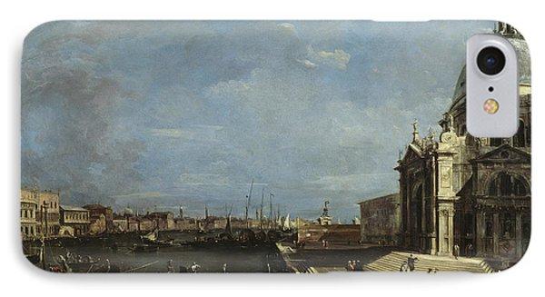 The Grand Canal, Venice IPhone Case by Francesco Guardi
