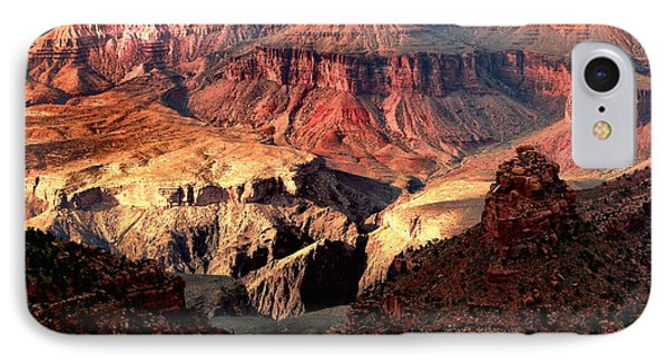 The Grand Canyon I IPhone Case by Tom Prendergast