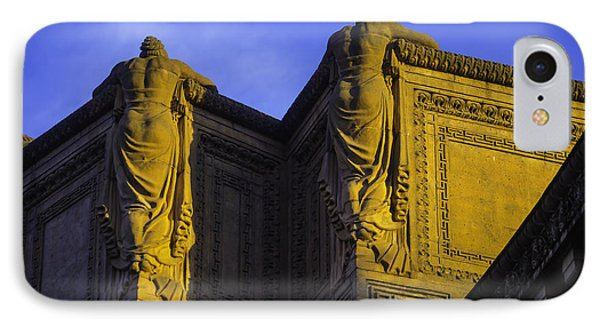 The Great Palace Of Fine Arts IPhone Case by Garry Gay