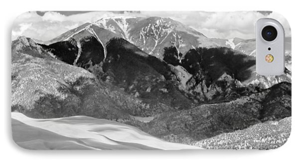 The Great Sand Dune Valley Bw Phone Case by James BO  Insogna
