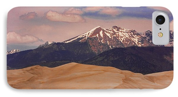 The Great Sand Dunes And Sangre De Cristo Mountains Phone Case by James BO  Insogna