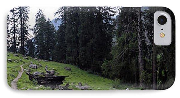 The Green Panorama IPhone Case by Sumit Mehndiratta