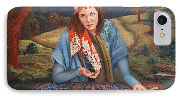 The Gypsy Fortune Teller Phone Case by Enzie Shahmiri