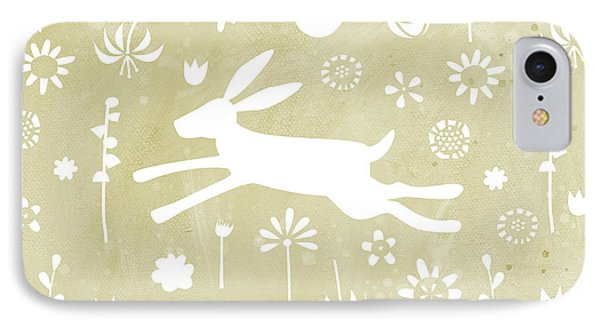 The Hare In The Meadow IPhone 7 Case by Nic Squirrell