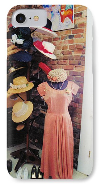 The Hat Rack Phone Case by Jan Amiss Photography