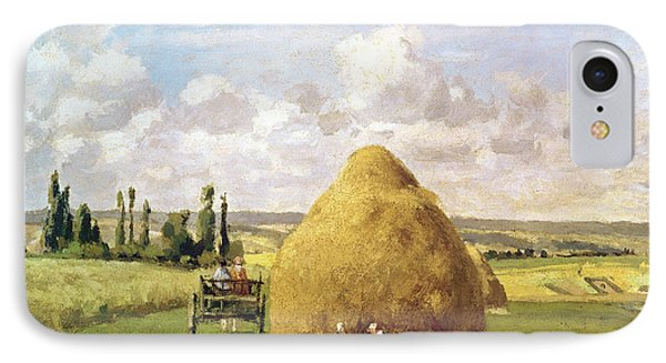 The Haystack IPhone Case by Camille Pissarro