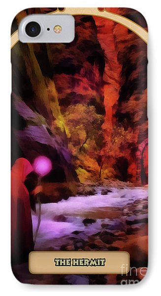 The Hermit IPhone Case by John Edwards