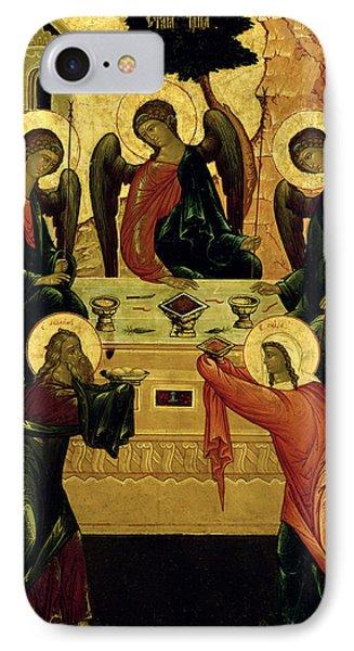 The Holy Trinity IPhone Case by Novgorod School
