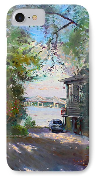 The House By The River IPhone Case by Ylli Haruni