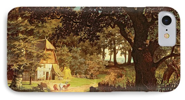 The House In The Woods Phone Case by Albert Bierstadt