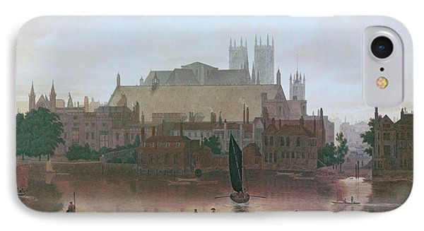 The Houses Of Parliament IPhone Case by George Fennel Robson