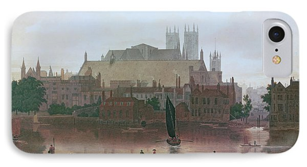 The Houses Of Parliament IPhone 7 Case by George Fennel Robson