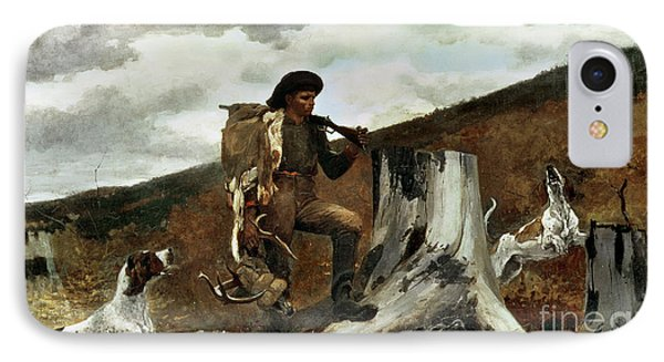 The Hunter And His Dogs Phone Case by Winslow Homer