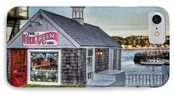 The Ice Cream Store IPhone Case by Susan Candelario