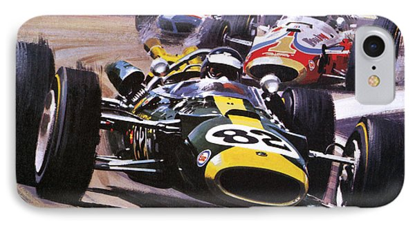 The Indianapolis 500 IPhone Case by Wilf Hardy