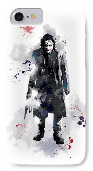 The Joker IPhone 7 Case by Marlene Watson