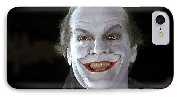 The Joker IPhone 7 Case by Paul Tagliamonte