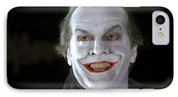 The Joker IPhone Case by Paul Tagliamonte