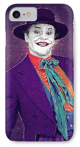 The Joker IPhone 7 Case by Taylan Soyturk