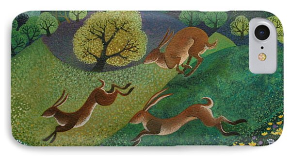 The Joy Of Spring IPhone 7 Case by Lisa Graa Jensen