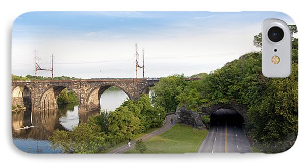 The Kelly Drive Rock Tunnel IPhone Case by Bill Cannon