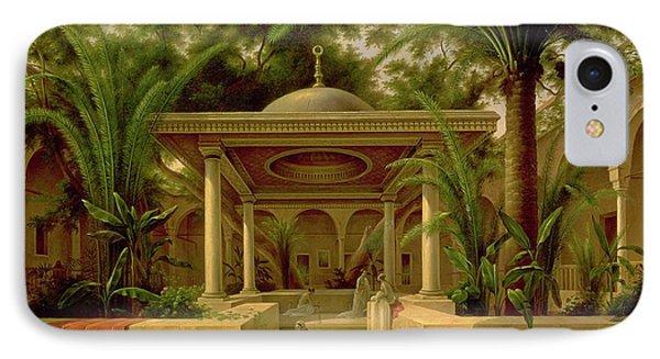 The Khabanija Fountain In Cairo IPhone Case by Grigory Tchernezov