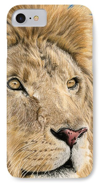 The King IPhone Case by Sarah Batalka