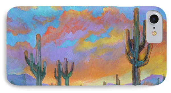 The Last Light IPhone Case by Diane McClary