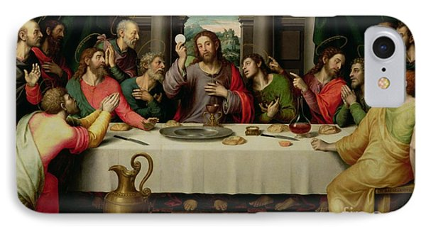 The Last Supper IPhone 7 Case by Vicente Juan Macip