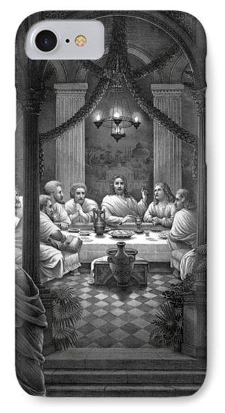 The Last Supper IPhone Case by War Is Hell Store