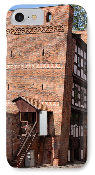 The Leaning Tower In Torun IPhone Case by Artur Bogacki