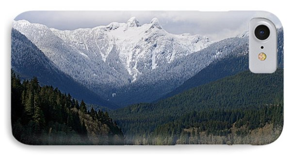 The Lions Mountain Vancouver Phone Case by Pierre Leclerc Photography