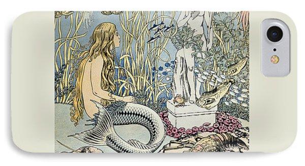 The Little Mermaid IPhone Case by Ivan Jakovlevich Bilibin