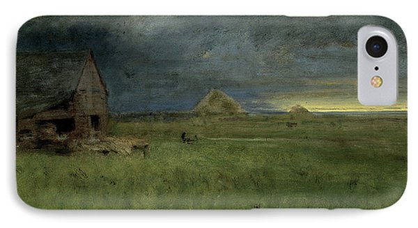 The Lonely Farm IPhone Case by George Inness